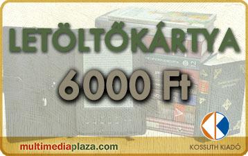 letöltőkartya 6000 Ft